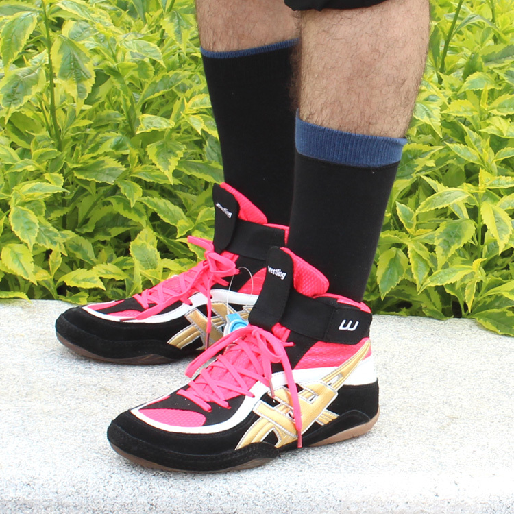 Aliexpress.com : Buy new 2015 men women Wrestling Shoes genuine ...