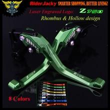 3D Rhombus Hollow design For Kawasaki Z 750 Z750 (not Z750S model) 2004 2005 2006 CNC Adjustable Motorcycle Brake Clutch Levers