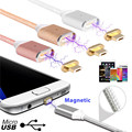 Hot Brand 2.4 A Micro USB Charging magnetic cable usb android Magnetic Adapter Charger for Samsung Android LG