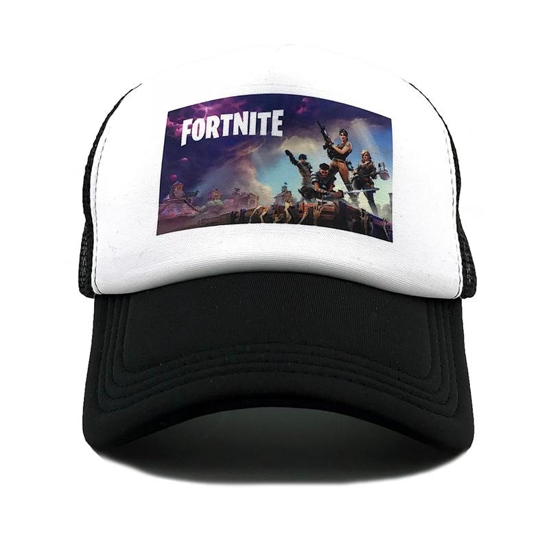 3939f869 Fortnite Trucker Cap Hat Hot New Game Fortnite Fans Cool Mesh Caps Summer  Baseball Net Trucker Caps Hat For Men Womenfaithinkapparel.