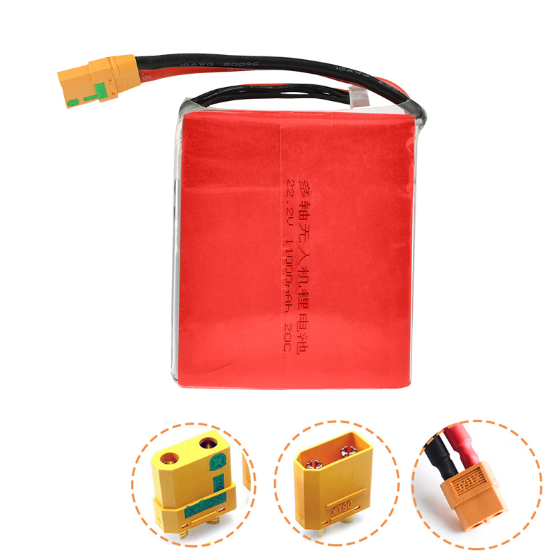 6S 22.2V 11000mah 20C Special Lipo Battery for Rc Model Aircraft Plant Protection Machine Rc Quadcopter Airplane Drone6S 22.2V 11000mah 20C Special Lipo Battery for Rc Model Aircraft Plant Protection Machine Rc Quadcopter Airplane Drone