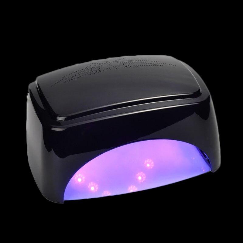 KESMALL 60 Вт Светодиодная УФ лампа для ногтей сушка лака для ногтей сушилка УФ гель лампа авто индукция светодиодный фототерапия инструмент для росписи ногтей маникюр CO686