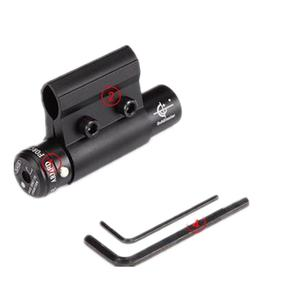Infrared laser sight red laser