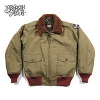 Bronson USAAF B-10 Flight Jacket 1943 Model Intermediate Flying Coat Vintage B10 Men's Bomber Jacket