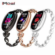 Imosi E68 women smart bracelet heart rate health monitoring WeChat sports reminder Bluetooth wear
