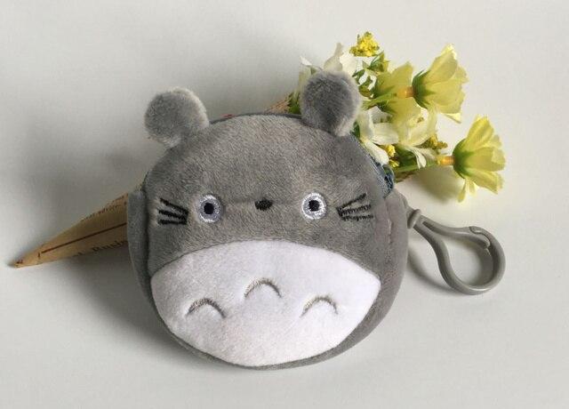 Leuke Mini 8 Cm Totoro Knuffel Sleutel Haak Knuffel Pluche Pop