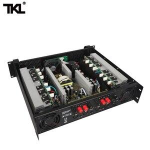 Image 5 - TKL 4 채널 증폭기 300W X4 회의 증폭기 오디오 전문 전력 증폭기 스위칭 전원 공급 장치 HIFI