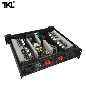 Image 5 - TKL 4 Channel Amplifier 300W X4 Conference Amplifier Audio Professional Power Amplifier Switching Power Supply HIFI