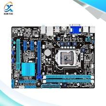 Для b75m-a оригинальный используется для рабочего материнская плата для intel b75 сокет lga 1155 Для i3 i5 i7 DDR3 16 Г SATA3 USB3.0 uATX На продажа