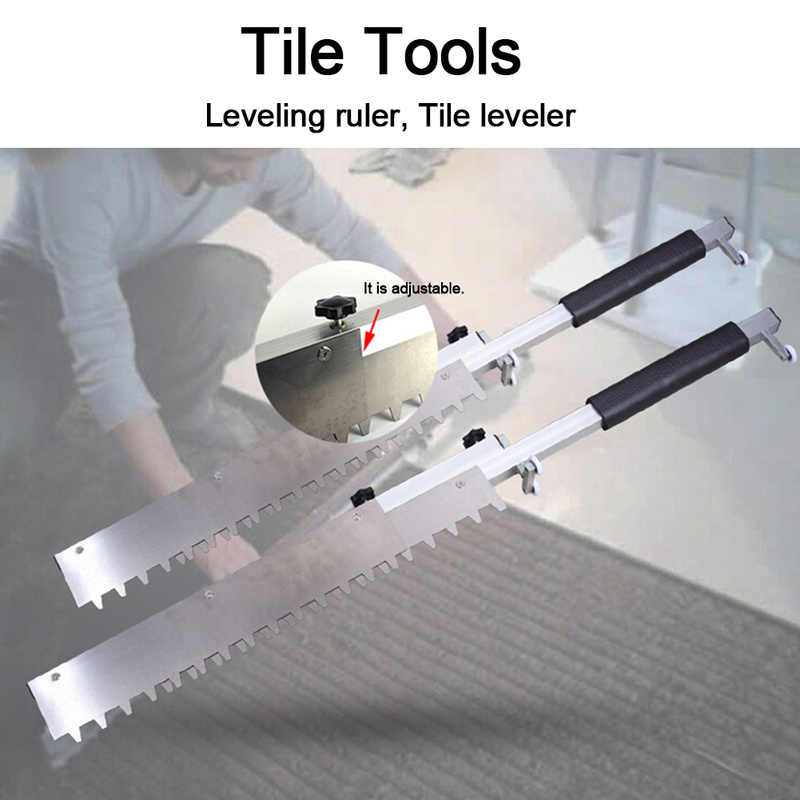 Professional tiling tool Leveling Gray floor Paving Tile builder Tool Mortar Trowel High Precision Flat Sand Leveling System