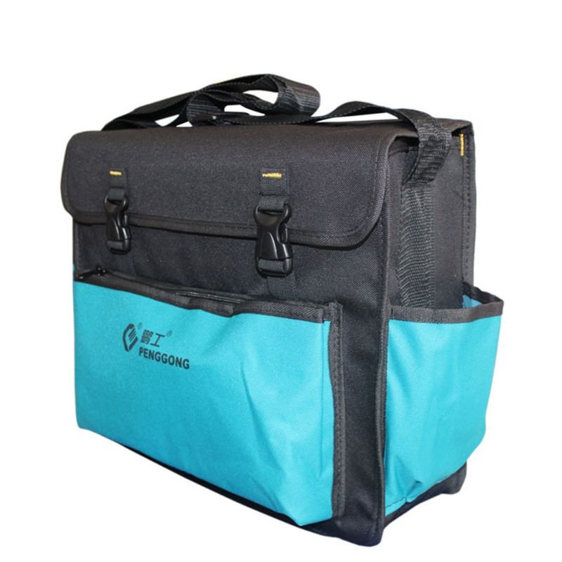 Electrician Worker Use Hardware Toolkit Shoulder bag Waterproof Oxford Cloth Organize  Storage Pouch Portable Tool Bag