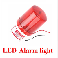 Strobe Signal Warning light 12V 24V 220V Indicator light LED Lamp small Flashing Light Security Alarm
