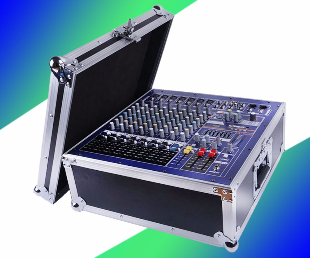 Hot sale Professional Powered Audio DJ Mixer Channel Mezcladora De DJ Mikser Mischer Low noise design of 8 Road