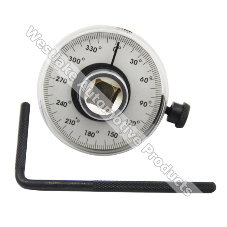 1/2 Dr Torque Angle Gauge Calibrated 360 Rotation Scale Gauge Meter Automotive