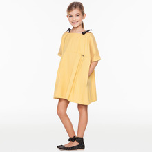 Children Summer Autumn Casual Girl Princess Simply Top Quality Dress Lady Girls Birthday Party Dresses Kids Cotton Prom Clothes