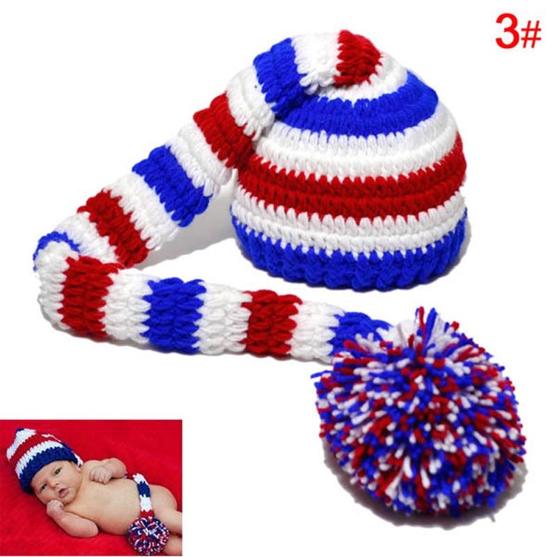Excepcional Patrón De Crochet Sombrero Del Duende Infantil Bosquejo ...