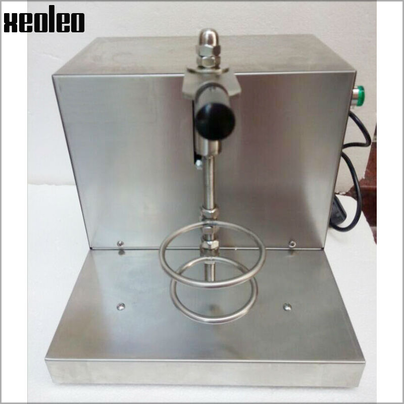 Xeoleo Bubble tea Shaking machine Single head Milkshaker  for 350/530/700ml cup Stainless steel Bubble tea machine with timing ac220v stainless steel automatic cup sealing machine for milk tea cup 90 95mm bubble tea sealer bubble tea sealing machine