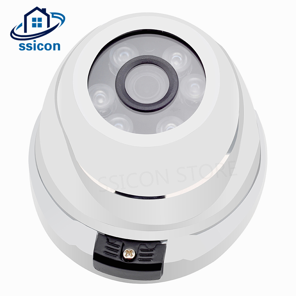 SSICON 2MP Night Vision Sony IMX323 AHD Camera 1080P 6pcs Array LED 20M IR Distance Metal Housing Dome Home Security CCTV CameraSSICON 2MP Night Vision Sony IMX323 AHD Camera 1080P 6pcs Array LED 20M IR Distance Metal Housing Dome Home Security CCTV Camera