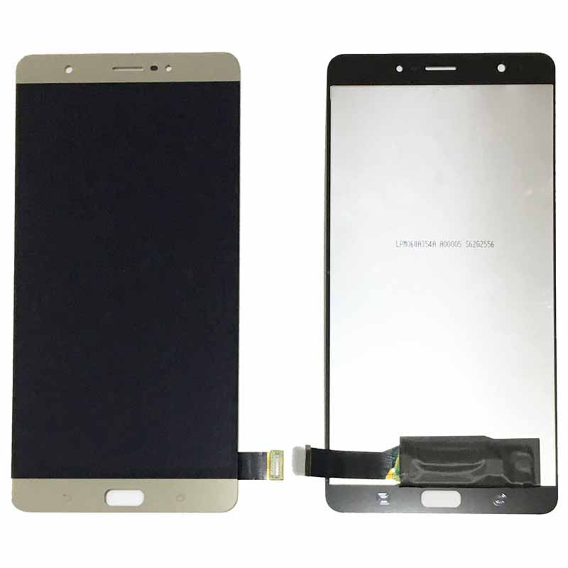 Подробнее о Gold LCD Digitizer Touch screen Display Assembly For Asus Zenfone 3 Ultra ZU680KL Replacement black replacement part for asus zenfone 4 lcd display and touch screen digitizer assembly 1pc lot free shipping