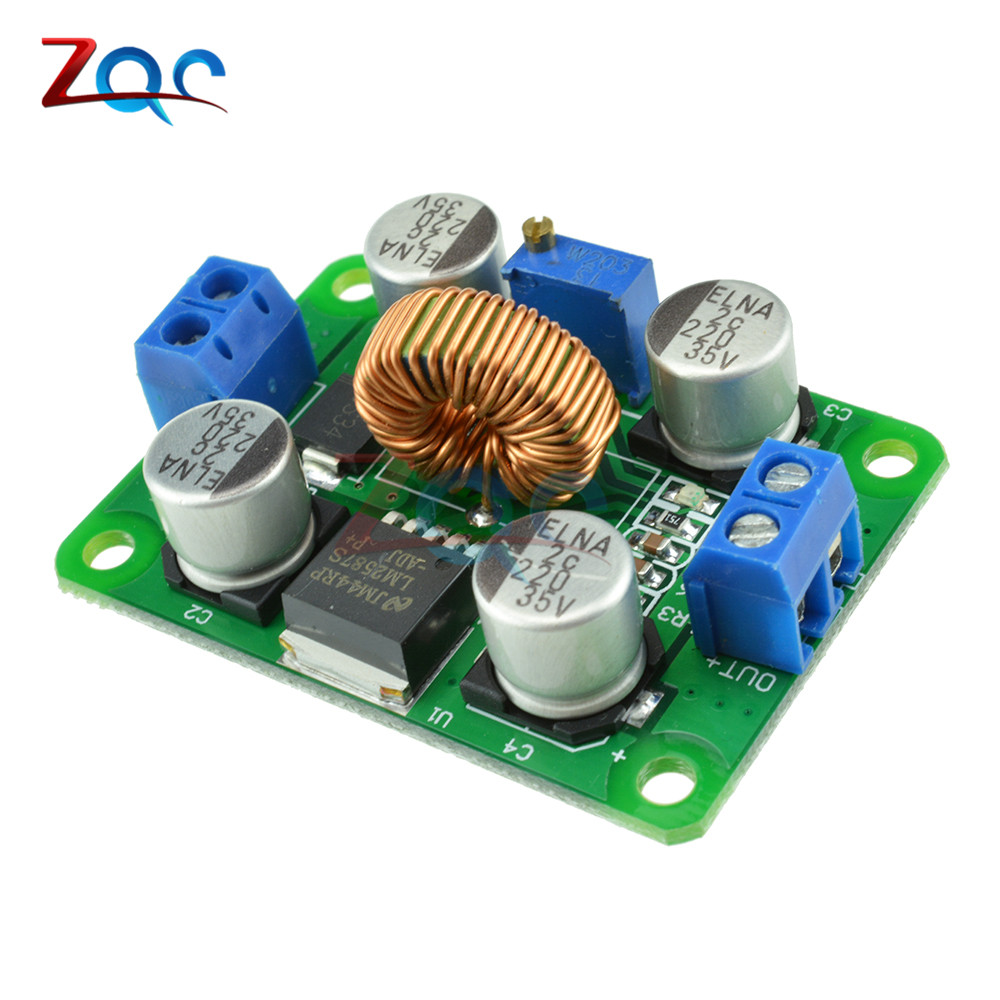 LM2587 DC-DC 3.5V-30V To 4V-40V Step Up Power Supply Module Adjustable 5A Boost Converter Voltage Regulator Board For Arduino wholesale 1pcs dc dc step up converter boost 2a power supply module in 2v 24v to out 5v 28v adjustable regulator board dropship