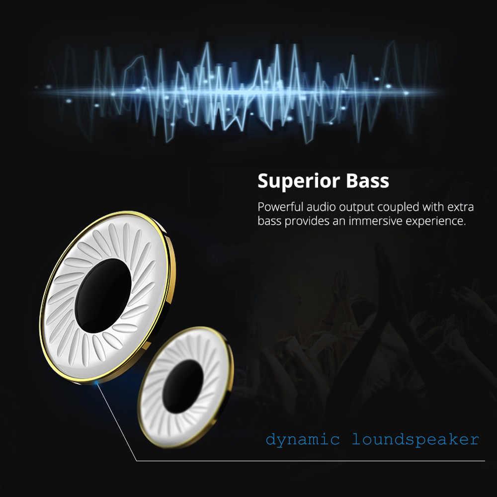 FBYEG K1 Bluetooth zestaw słuchawkowy dla aktywnych/bezprzewodowe słuchawki Bass słuchawki bluetooth słuchawki z redukcją szumów do telefonów i muzyki