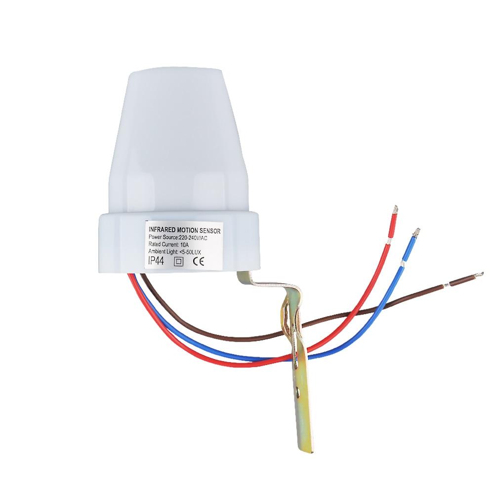 Sensky 220 V 240 Ac Ip44 Photoelektrischer Sensor Schalter Wiring Volt Lichtsteuerung Automatische Lichtschranke 302 In