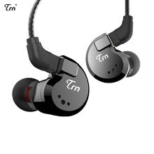 Original TRN V80 In Ear Earphone HIFI DJ Monitor Running Sport Earphone Earplug Headset With 2PIN Detachable TRN V20/V60 the fragrant zither tfz exclusive king 2pin interface hifi monitor in ear sports earphone customized dynamic dj earphone