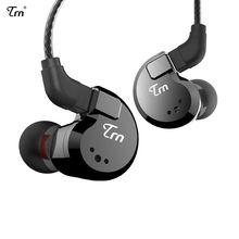 Original TRN V80 In Ear Earphone HIFI DJ Monitor Running Sport Earphone Earplug Headset With 2PIN Detachable TRN V20/V60 ak trn v20 dd ba hybrid in ear earphone hifi dj monitor running sport earphone earplug headset with 2pin cable
