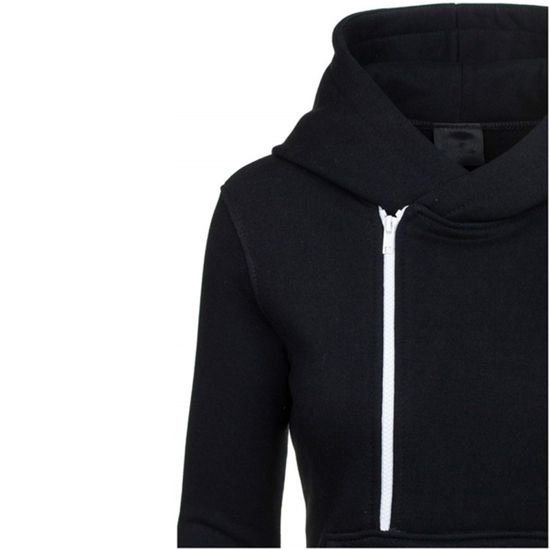 Zogaa Women Tracksuit Long Sleeve Hoodies Sweatshirts Casual Drawstring Pockets Zipper Warm Outwear Female Coat Tops Pullovers