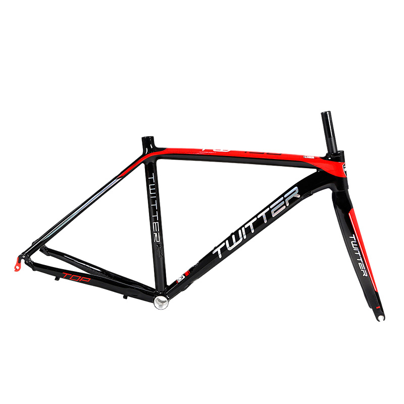 TWITTER 700C Road Bike Frame Aluminum alloy Smooth Welds Internal Cable Routing Road Bicycle Frame
