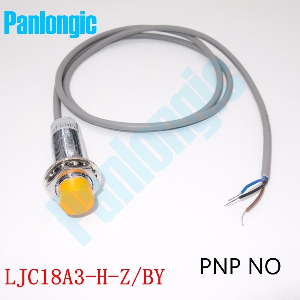 Panlongic High Quality LJC18A3-H-Z/BY Capacitance Proximity Sensor Switch DC 6-36V 300mA PNP NO Normally Open Free Shipping