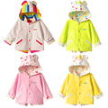 Toddler Ponchos Capes Children Warm Jacket Newborn Coat Casaco Polares Menina Baby Cardigan Wearing Poncho Coat 60D034