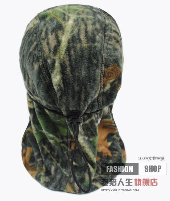 Outdoor Warm Neck Hunting Full Face Mask Beanies Cabelas Leaves Bionic  Camouflage fleece thermal winter hat hunting fishing mask-in Skullies    Beanies from ... b30d3083741