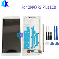 For OPPO R7 Plus LCD Display Touch Screen Panel Digital Replacement Parts Assembly Original 6 0
