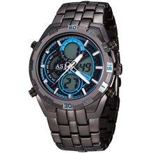2016 модный бренд дизайн цифровой СВЕТОДИОДНЫЙ человек мужской классический часы армия прохладный спорт военная наручные кварцевые бизнес-подарок часы 056