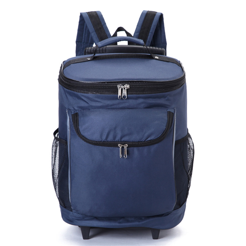 25L Portable Large Picnic Backpack Thermo Lunch Bags <font><b>Cooler</b></font> Refrigerator Multifunction for Camping Hiking Travel