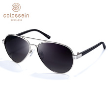 COLOSSEIN Sunglasses Children Retro Vintage Metal  Eyewear Suit Under 12 Years For Kids UV400 Protection