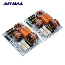 AIYIMA 2 Pcs L-380C 3Way 3 Unité HiFi Haut-Parleur Diviseur de Fréquence Crossover Filtres pour KASUN