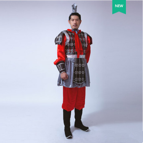 high quality chinese soldier costume ancient chinese armor costume for men historical costume ancient dynasty cosplay
