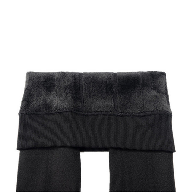 Ankle-Length Keep Warm Solid Pant 6