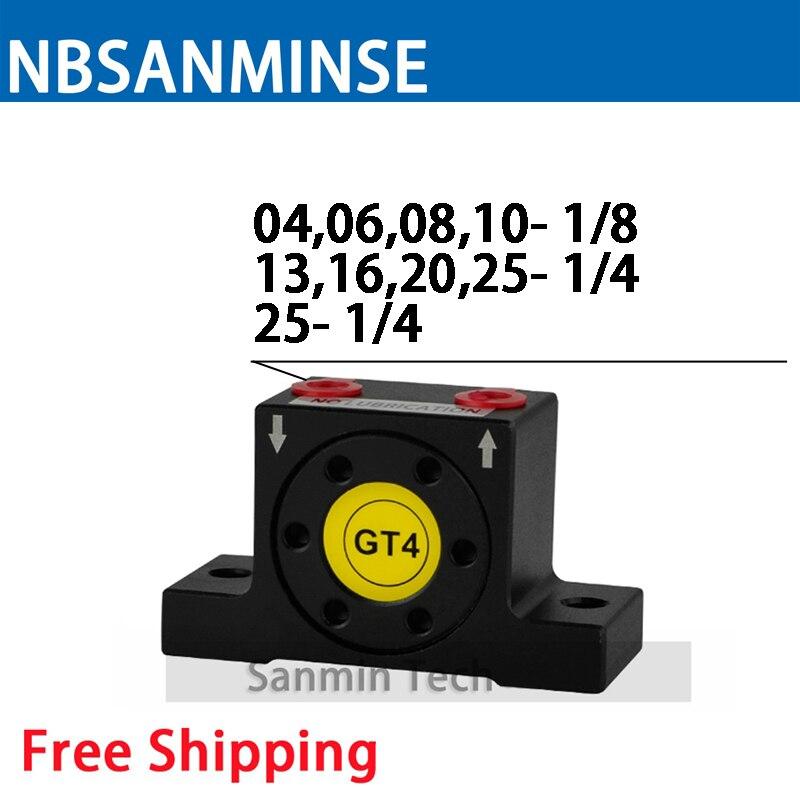 NBSANMINSE GT Pneumatic Turbine Vibrator Air Vibrator Low Pressure For food and pharmaceutical industries цена