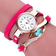 10 шт pu женские часы браслет модные плетеные бриллианты жемчужные