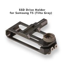 TILTA TA SSDH T5 G SSD sürücü tutucu T5 SSD TILTA BlackMagic bmpcc 4k kafes Gary veya taktik bitmiş