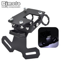 BJMOTO Motorcycle Accessories Z900 Fender Eliminator License Plate Bracket Ho Tidy Tail For Kawasaki Z900 2017