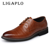 New Men S Real Cowhide Leather Oxford Shoes Comfortable Insole Lacing Business Dress Shoes Man Wedding