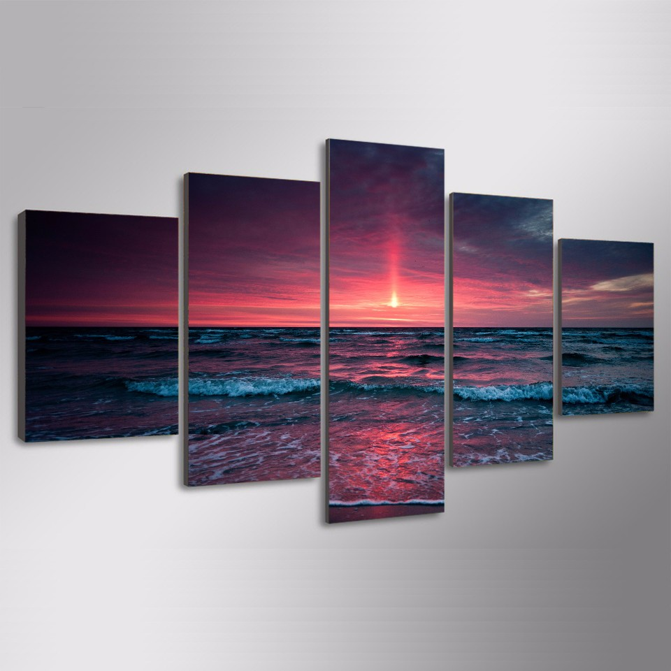 Aliexpress buy 2017 new seascape beach oil painting hd aliexpress buy 2017 new seascape beach oil painting hd digital prints wall hanging stickers for bedroom decoration artwork free shipping from reliable amipublicfo Gallery