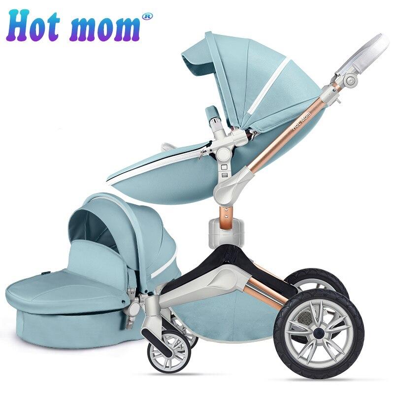 Hot Mamma Del Bambino passeggino 360 2in1walking unità e culla eccellente recensioni, analogico mima xari Passeggini con consegna gratuita