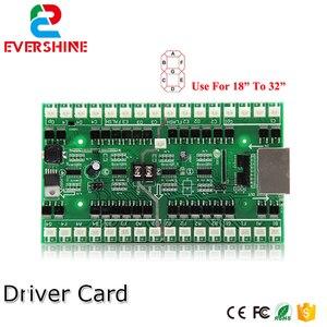 Image 1 - 4/5/6 números uso do cartão de motorista para 18 polegada a 32 polegada led digital número módulo de óleo gás preço led sinal de controle cartão