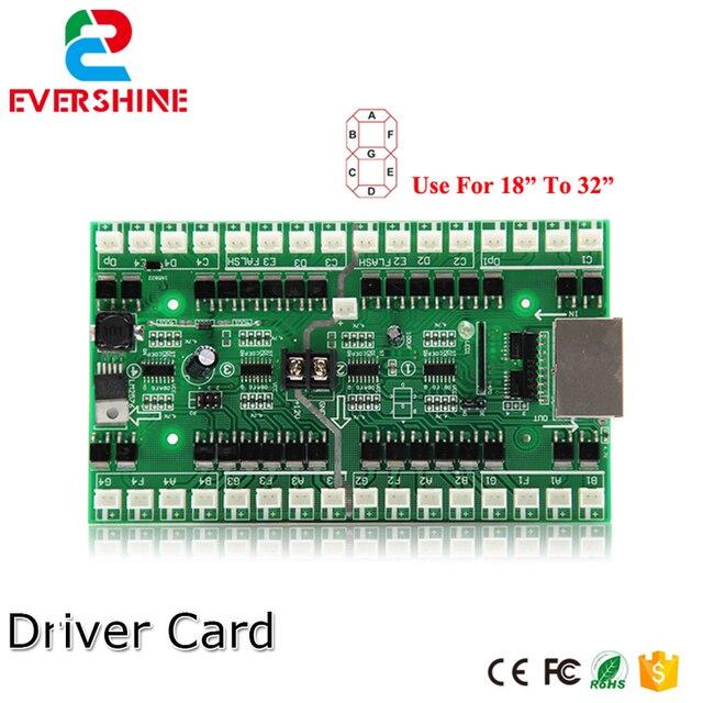 4/5/6 números uso do cartão de motorista para 18 polegada a 32 polegada led digital número módulo de óleo gás preço led sinal de controle cartão
