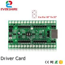 4/5/6 numaraları sürücü kartı kullanımı için 18 inç 32 inç LED dijital sayı modülü gaz petrol fiyatı LED işareti kontrol kartı
